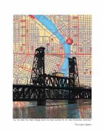 Steel Bridge Portland Fine-Art Print