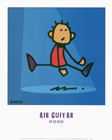 Air Guitar Fine-Art Print