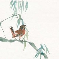 Russet Sparrow Fine-Art Print