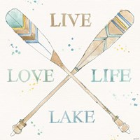 Lakehouse V Fine-Art Print