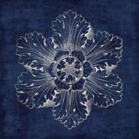 Rosette V Indigo Fine-Art Print