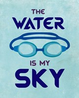 The Water is My Sky Fine-Art Print