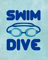 Swim Dive 2 Fine-Art Print