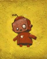 Red Robot Star Fine-Art Print