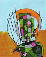 Segmented Man II Fine-Art Print