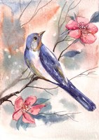 Watercolor Bird Fine-Art Print