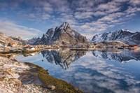 Mirror In The Fjord Fine-Art Print