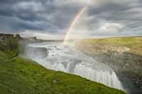 Rainbow Over Gullfoss Fine-Art Print