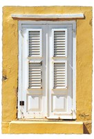 Beach House Shutters Fine-Art Print