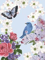 Bird Garden I Fine-Art Print