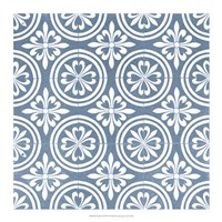 Chambray Tile II Fine-Art Print