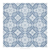 Chambray Tile IV Fine-Art Print