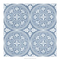 Chambray Tile V Fine-Art Print