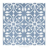 Chambray Tile VI Fine-Art Print