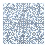 Chambray Tile VIII Fine-Art Print