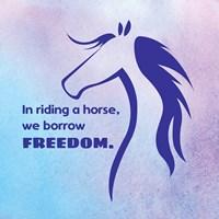 Horse Quote 3 Fine-Art Print