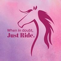 Horse Quote 5 Fine-Art Print
