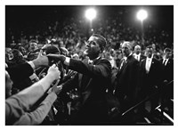 Barack Obama at Campaign Rally Fine-Art Print