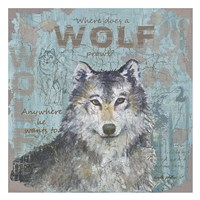 Where Does a Wolf Prowl Fine-Art Print