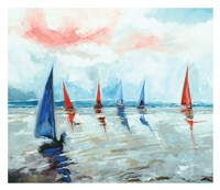 Sailing Boats Regatta Fine-Art Print