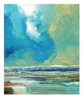 Sea View on Board I Fine-Art Print