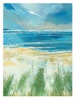 Summer Sea and Beach at Holkham Fine-Art Print