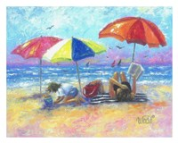 At the Beach I Fine-Art Print