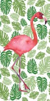 Tropical Flamingo I Fine-Art Print