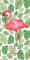 Tropical Flamingo II Fine-Art Print