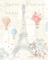 Lighthearted in Paris II Fine-Art Print