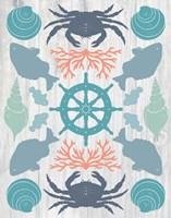 Coastal Otomi IV on Wood Fine-Art Print