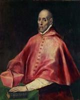 Cardinal Juan de Tavera (d1545), founder of the Tavera Hospital Fine-Art Print