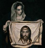 Saint Veronica with the Sudarium Fine-Art Print