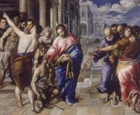 The Healing of the Blind Man Fine-Art Print