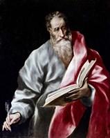 Apostle Saint Matthew, 1602-05 Fine-Art Print