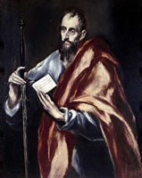 Apostle Saint Paul, 1602-05 Fine-Art Print