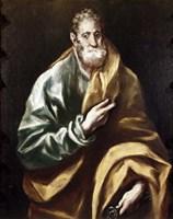 Apostle Saint Peter, 1602-05 Fine-Art Print