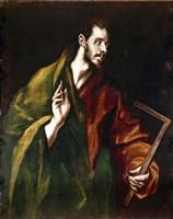 Apostle Saint Thomas, 1602-05 Fine-Art Print
