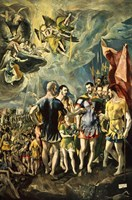 The Martyrom of St Maurice and the Theban Legion 1580 Fine-Art Print