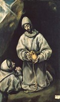 Saint Francis of Assisi 1600 Fine-Art Print