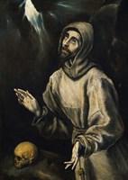 St Francis Receiving the Stigmata Fine-Art Print