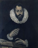 Portrait of Alonso de Herrera 1595-1605 Fine-Art Print