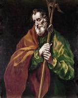 Apostle Saint Thaddeus (Jude) Fine-Art Print