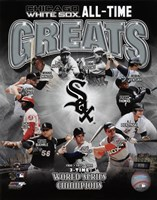 Chicago White Sox All-Time Greats Fine-Art Print