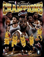 Cleveland Cavaliers 2016 NBA Champions Composite Fine-Art Print
