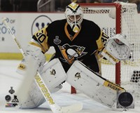 Matt Murray Game 5 of the 2016 Stanley Cup Finals Fine-Art Print