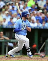 Mike Moustakas 2016 Action Fine-Art Print