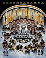 Pittsburgh Penguins 2016 Stanley Cup Champions Composite Fine-Art Print