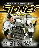 Sidney Crosby 2016 NHL Conn Smythe Trophy Winner Portrait Plus Fine-Art Print