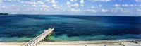 Beach Pier, Nassau, Bahamas Fine-Art Print